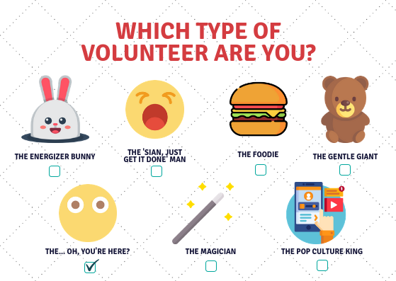 7 Types of People You Meet While Volunteering