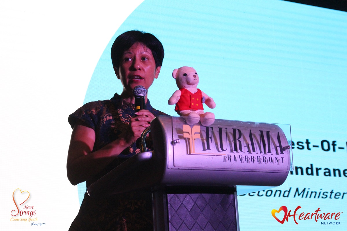 Speech by Ms Indranee Rajah, Second Minister for Education, at the Heartware Network Fundraising and Thanksgiving Dinner 2019 at the Furama Riverfront Singapore